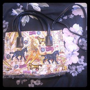 Super cute safari vintage beaded bag